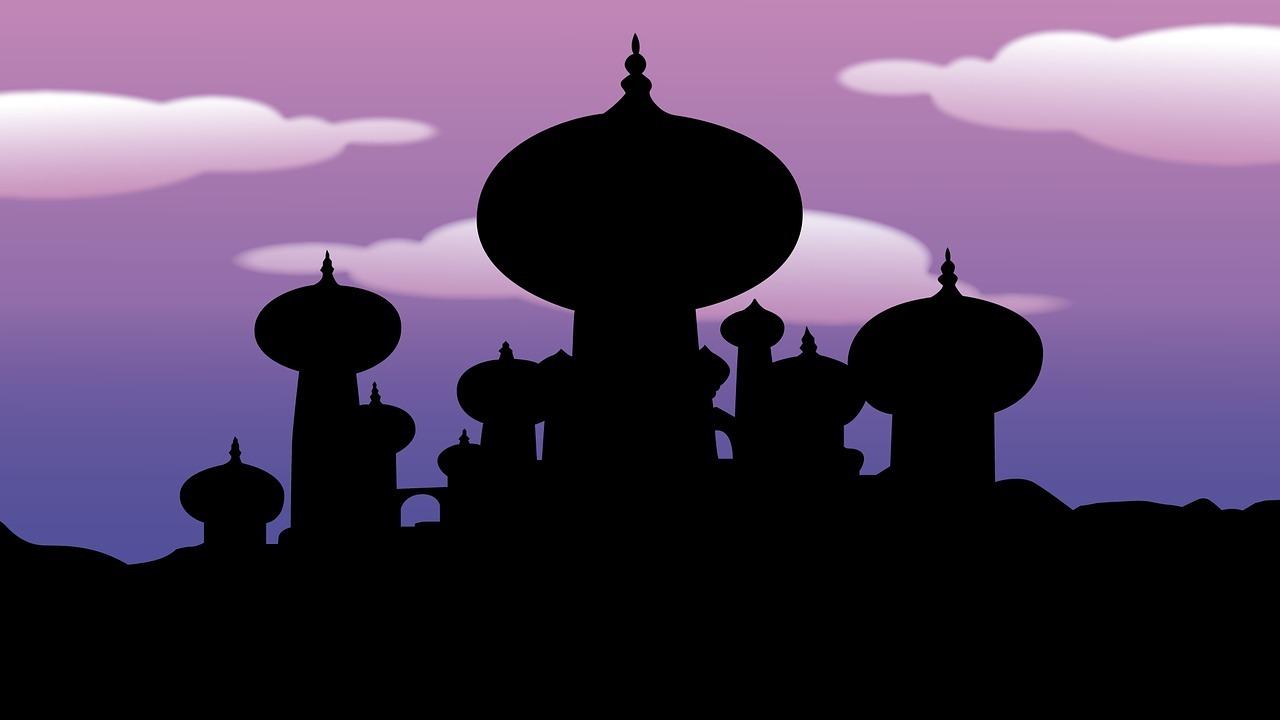 海外の人が爆笑-日本人の勘違い-アラジン-アラブ-お城